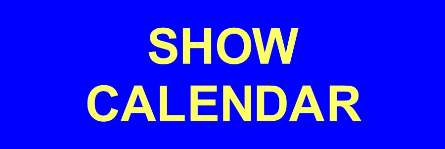 Frank's Cool Stuff Show Calendar
