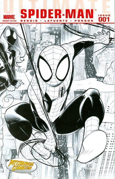 HOT ITEM: Ultimate Spider-Man #1 Pittsburgh Variant